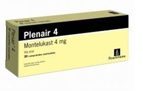 Picture of PLENAIR MASTICABLE 4 mg [30 comp.]