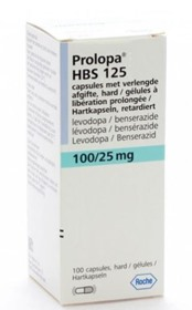 Picture of PROLOPA 125 HBS 100+25mg [30 cap.]