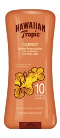 Picture of HAWAIIAN CARROT LOCION BRONCEADORA DE ZANAHORIA TANNING LOTION 10 fps [240 ml]