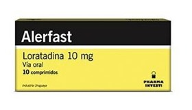 Picture of ALERFAST 10 MG X 10 COMP.