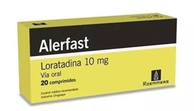 Picture of ALERFAST 10 MG X 20 COMP.