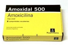 Picture of AMOXIDAL 500 MG. X 8 COMP.