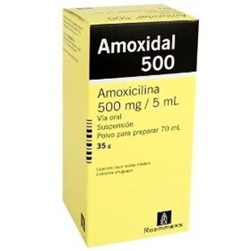 Picture of AMOXIDAL 500 SUSPENSION 500 mg [70 ml]
