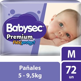 Picture of BABYSEC PREMIUM JUMBO PACK M [72 uni.]