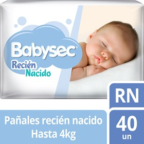 Picture of BABYSEC RECIEN NACIDO RN [40 uni.]