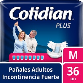 Picture of COTIDIAN PLUS PAÑAL MEDIANO [36 uni.]