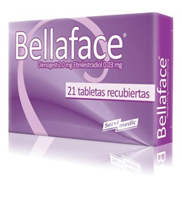 Picture of BELLAFACE 21 2.0+.03mg [21 comp.]