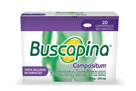 Picture of BUSCAPINA COMPOSITUM 10+250mg [20 comp.]