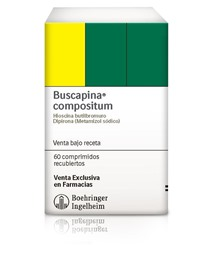 Picture of BUSCAPINA COMPOSITUM 10+250mg [60 comp.]